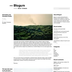 Blogum | Blogum Theme Demo