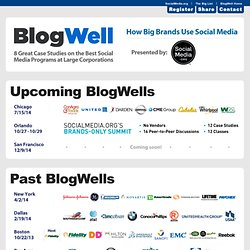 BlogWell | How Big Brands Use Social Media