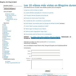 Blogzine, el videoblog de @jlori