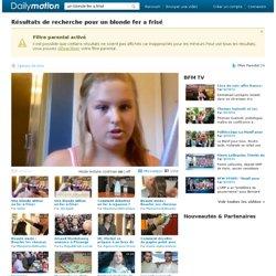 un blonde fer a frisé vidéos sur Dailymotion