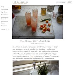 Blood Orange Gin Sparkler Recipe
