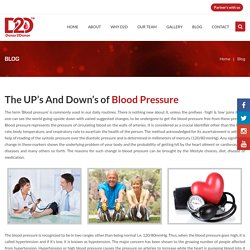 The UP's And Down's of Blood Pressure