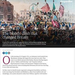 The bloody clash that changed Britain