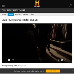 Bloody Sunday 1965 Video - Civil Rights Movement