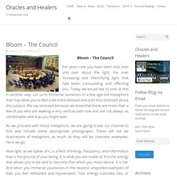 Bloom - The Council - Oracles and Healers