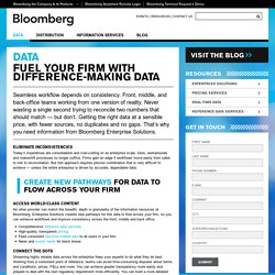 Bloomberg Enterprise Solutions
