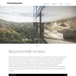 Bloomframe® window