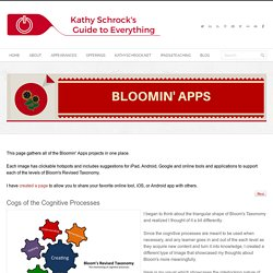 Kathy Schrock's Guide to Everything - Bloomin' Apps