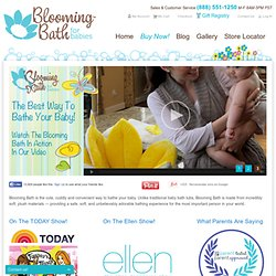 Blooming Bath - Baby Bath Seat, Baby Bath, Baby Bathtub, Baby Bath Tub, Baby Tub, Baby Bathing