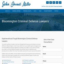 Criminal Defense Attorney - Burnsville and Bloomington