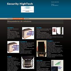 Security - Bloqueadores de celulares