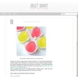 Blow Pop Martini Jelly Shot. Blow Pop Martini Jelly Shots, watermelon ...