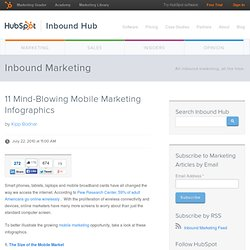 11 Mind-Blowing Mobile Marketing Infographics