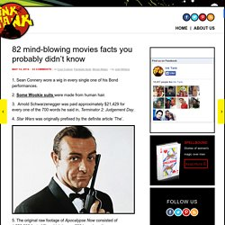 82 mind-blowing movies facts you probably didn't know