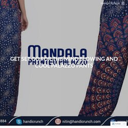Get Set Go for the Mind Blowing and Cool Palazzo Pants