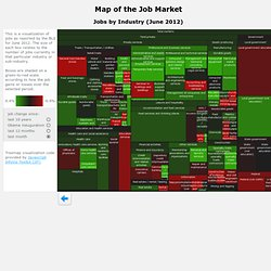 BLS Jobs By Industry Treemap