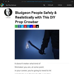 Bludgeon People Safely & Realistically with This DIY Prop Crowbar