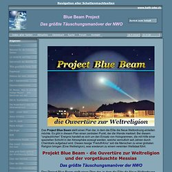 Blue Beam Project