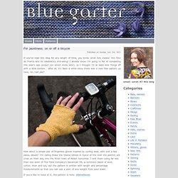 Blue Garter » Patterns