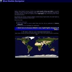 Blue Marble Navigator