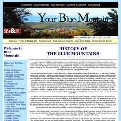 Blue Mountain - History