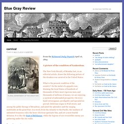 Blue Gray Review | An American Civil War site