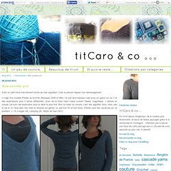 Blue summer pull - TitCaro & Co ...