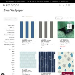 Blue Wallpaper For Walls - Teal and Navy Blue Wall Patterns