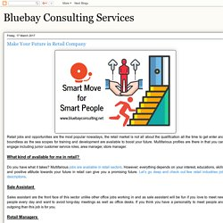 Bluebay Consulting Services: Make Your Future in Retail Company
