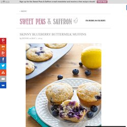 Skinny Blueberry Buttermilk Muffins