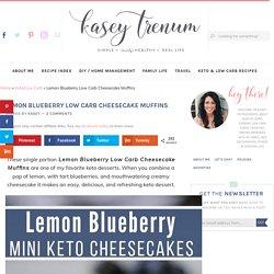 Lemon Blueberry Cheesecake Muffins