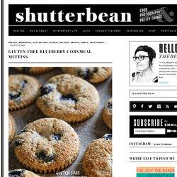 Gluten Free Blueberry Cornmeal Muffins - Shutterbean