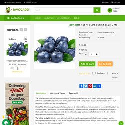 Imported Blueberry Online