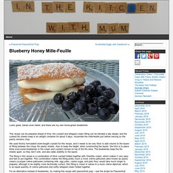 Blueberry Honey Mille-Feuille »