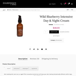 Wild Blueberry Intensive Day-Night Cream