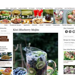 Kiwi Blueberry Mojito – Laylita's Recipes