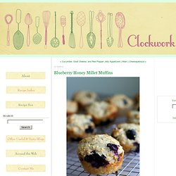 Blueberry Honey Millet Muffins
