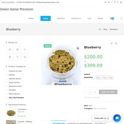 Blueberry Best deals and pure product by Green Genie Provision