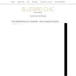 bluebird chic personal blog – modern style, vintage soul