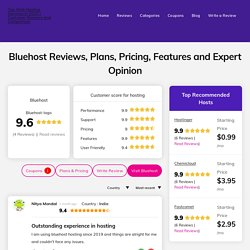 Bluehost Hosting Review : Is They are Most Underrated Site in 2020?