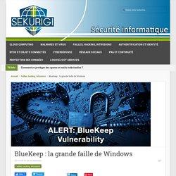 BlueKeep : la grande faille de Windows