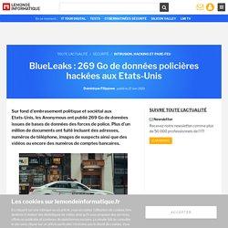 BlueLeaks : 269 Go de données policières hackées aux Etats-Unis