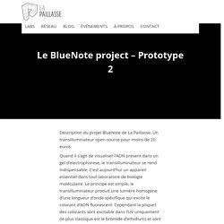 Le BlueNote project – Prototype 2