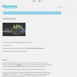 Comprendre les APIs