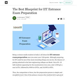 The Best Blueprint for IIT Entrance Exam Preparation