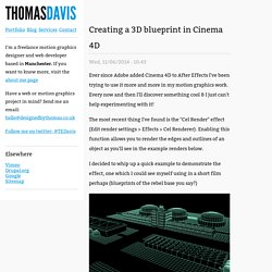 Thomas Davis Freelance website developer and motion graphics designer based in Manchester