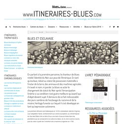 Blues et esclavage