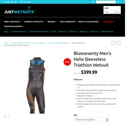 Blueseventy Helix Sleeveless Triathlon Wetsuits