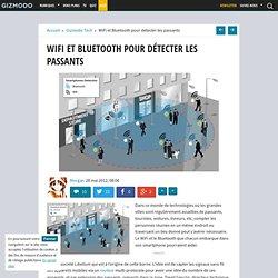 WiFi et Bluetooth pour détecter les passants