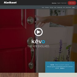 Kevo - Bluetooth Electronic Lock